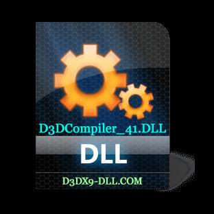 Скачать d3dcompiler_41.dll