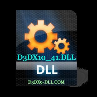 Скачать d3dx10_41.dll