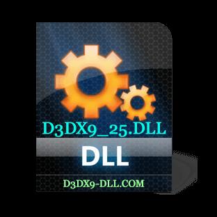 Скачать d3dx9_25.dll